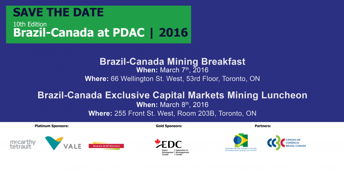 Brazil-Canada at PDAC 2016