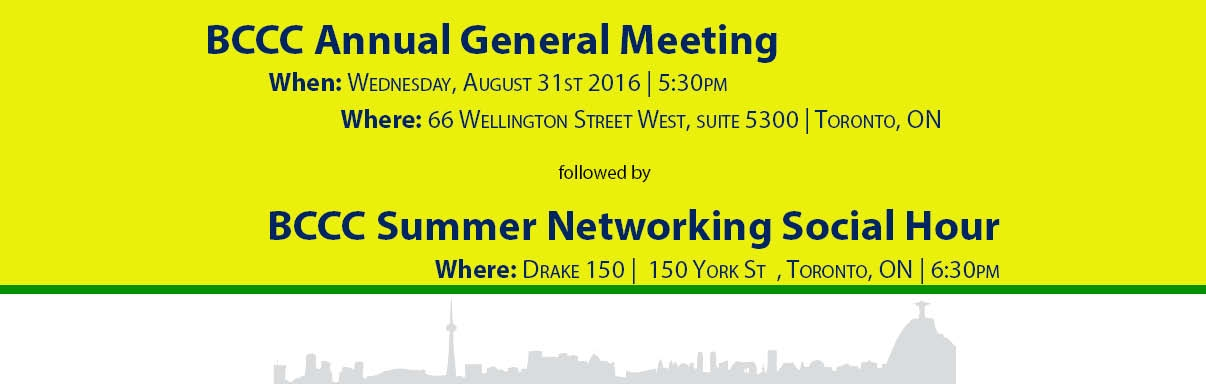 Annual General Meeting & Networking Social Hour