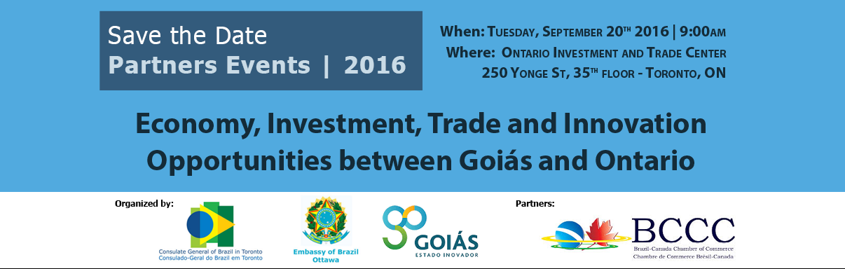 Business Opportunities between Goias & Ontario
