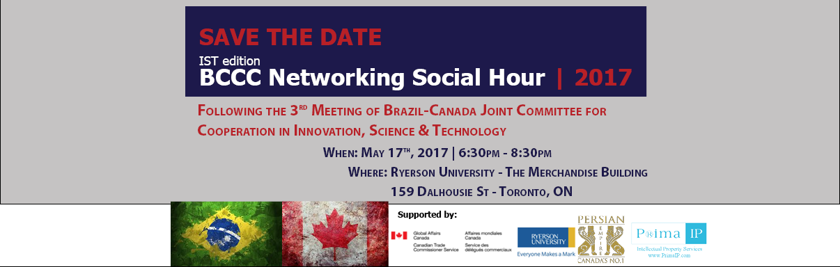 Brazil-Canada IST Networking Social Hour