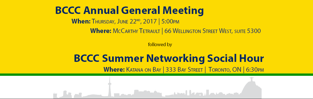 BCCC Annual General Meeting 2017