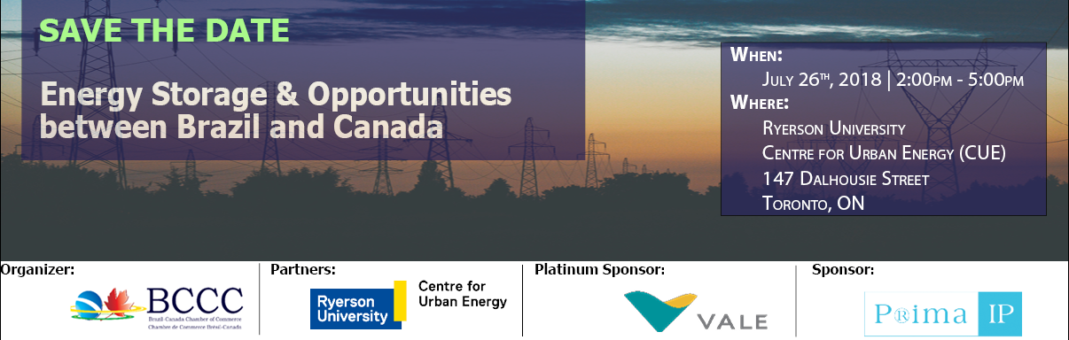 Energy Storage & Opportunities between Brazil and Canada