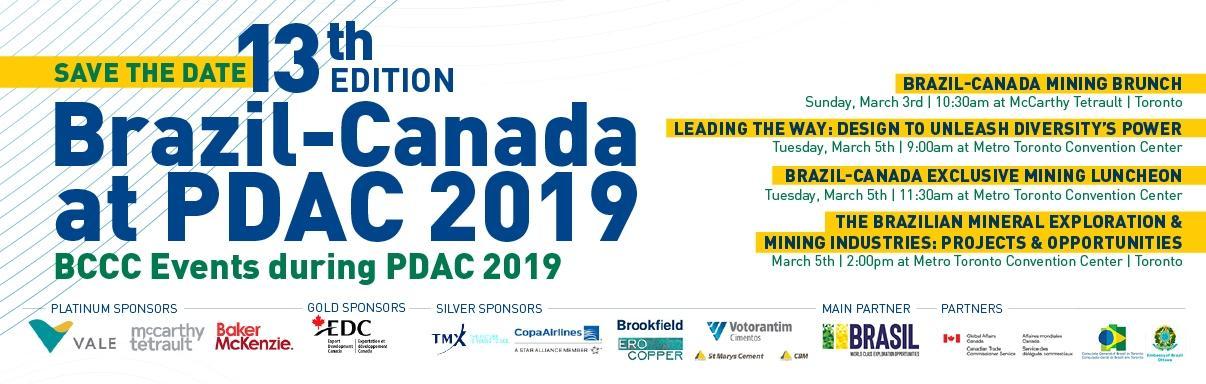Brazil-Canada at PDAC 2019