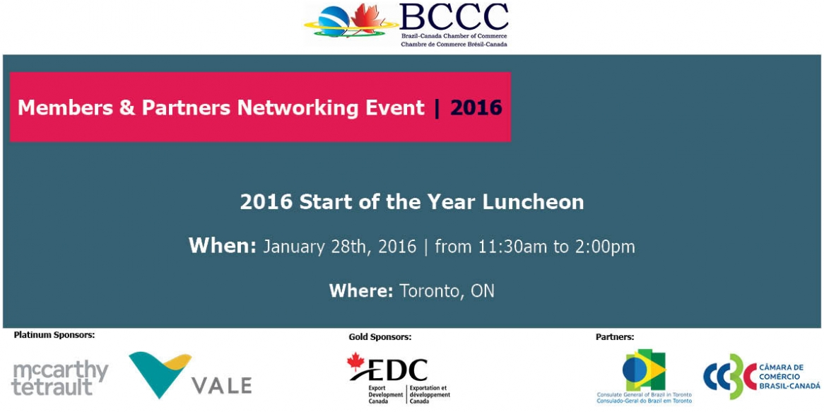 Start of the Year Luncheon – Members and Partners