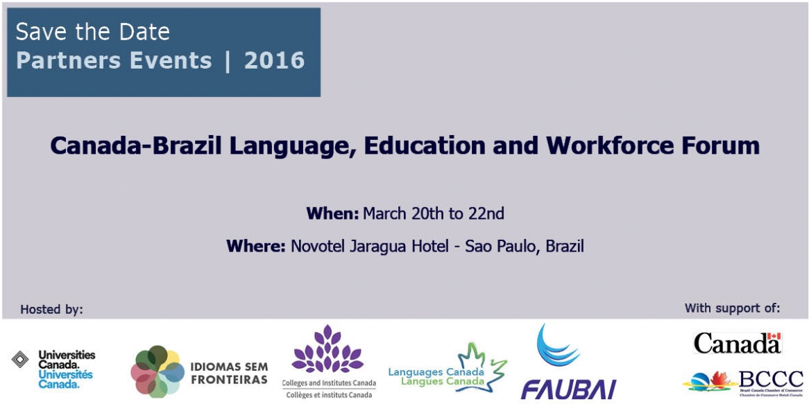 2nd annual  Canada-Brazil  Language, Education, and Workforce  Forum