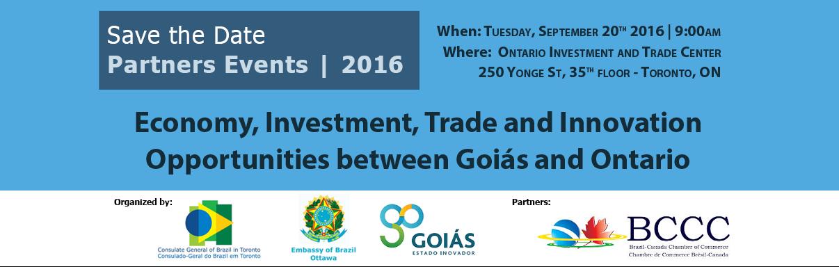 Business Opportunities between Goias & Ontario