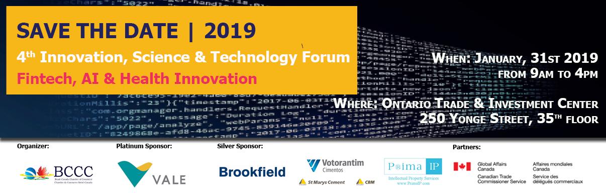 4th BCCC Innovation, Science & Technology Forum | Fintech, AI & Health Innovation