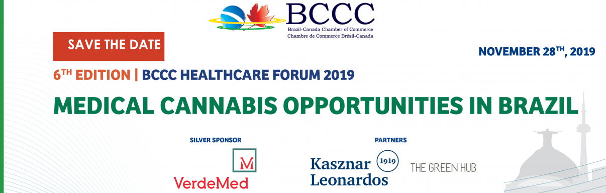 BCCC Healthcare Forum | 6th Edition | Medical Cannabis Opportunities in Brazil