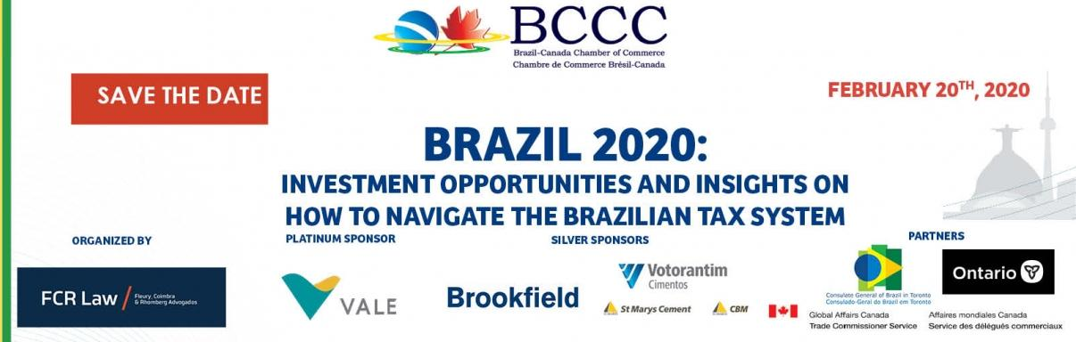 Brazil 2020: Investment Opportunities and insights on how to navigate the Brazilian Tax System