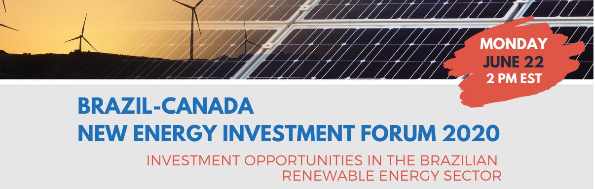 Brazil-Canada New Energy Investment Forum