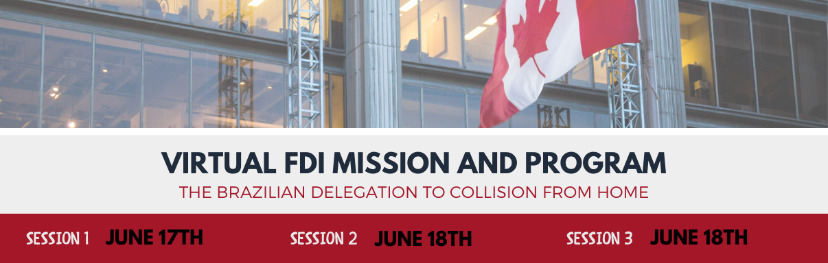 Virtual FDI Mission & Program - Brazilian Delegation to Collision from Home