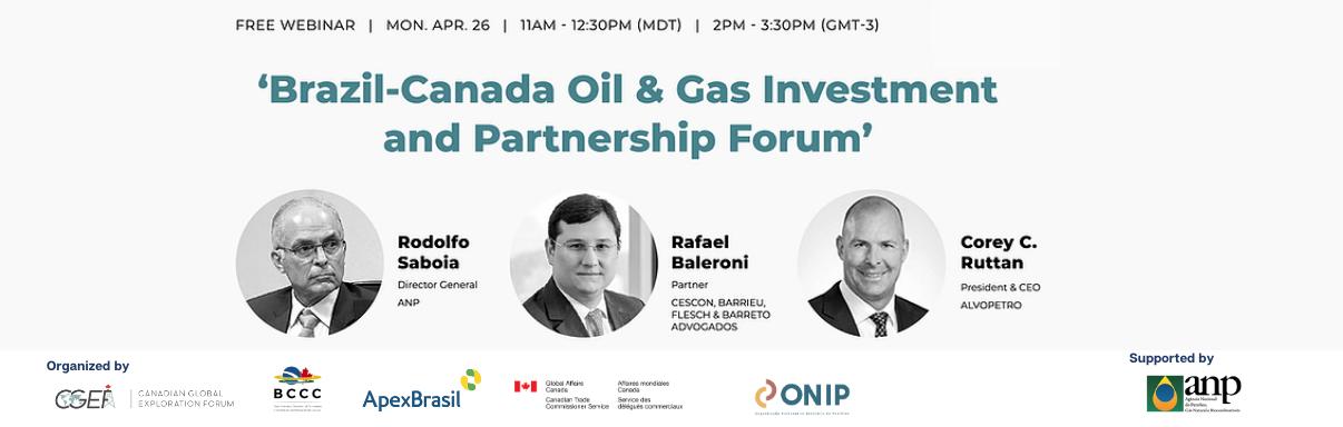 Brazil-Canada Oil & Gas Investment & Partnership Forum