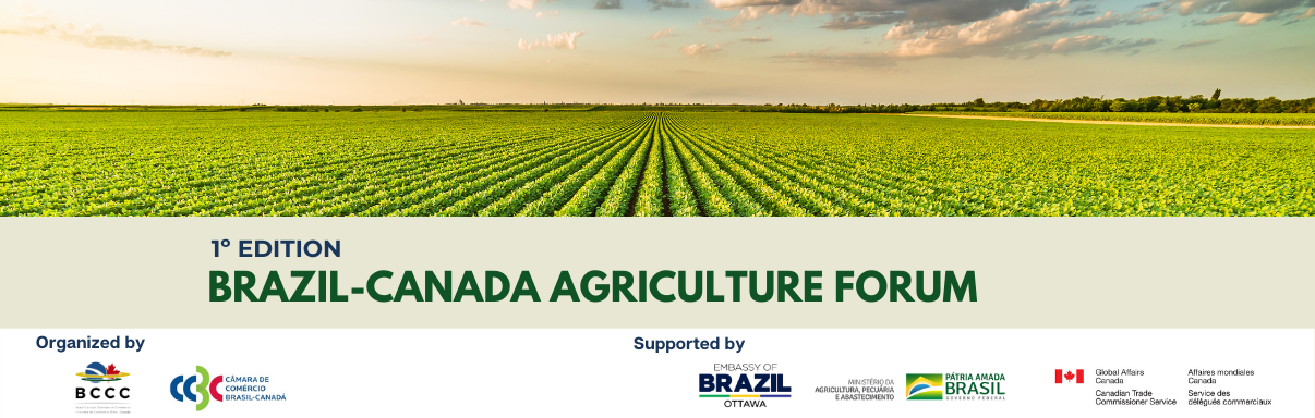 1º Edition Brazil-Canada Agriculture Forum